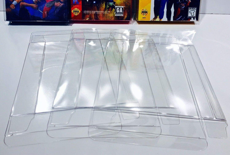 10 Sega Genesis/Master / 32X - Protectores de Caja (cartón CIB): Amazon.es: Electrónica