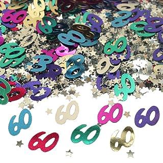 60Coriandoli Da Tavolo, Colori Assortiti