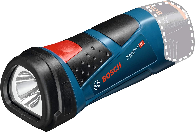Bosch Professional GLI 12V-80 - Linterna a batería (sin batería, 12 V, 80 lúmenes, en caja)