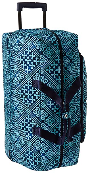 Amazon.com  Vera Bradley Women s Lighten Up Large Wheeled Duffel ... 1f43f3dae4