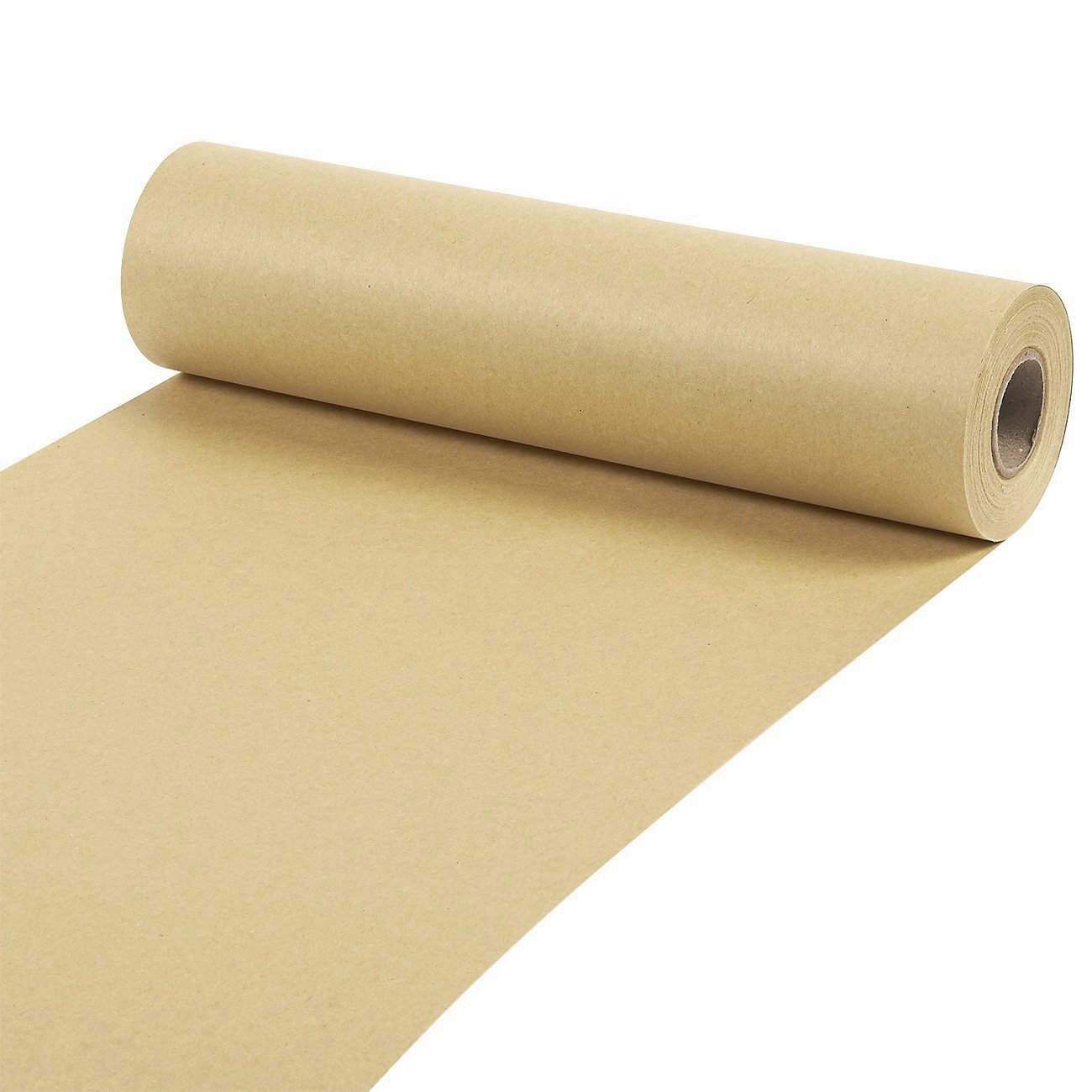 Kraft Paper Roll - Jumbo Packing Paper, 100 Feet Long Brown Kraft Paper Roll, for Craft, Gift Wrapping, Packing, Shipping, 10 x 1200 Inches
