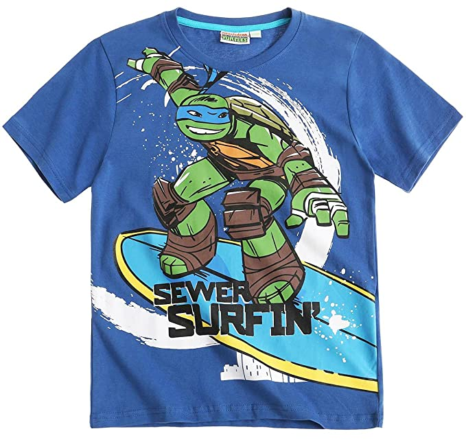 Camiseta Manga Corta Niño Niño Tortugas Ninja azul de 6 a 12 ...