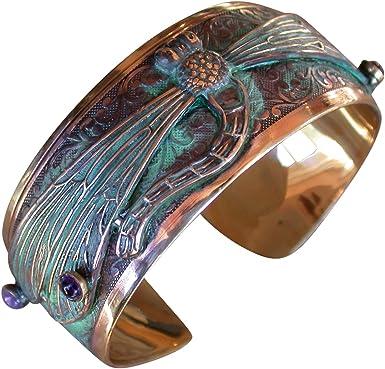 Natural Stone Garnet Brass Bangle Cuff Feather Bracelet Feather cuff bangle Garnet Brass Cuff Natural Stone Feather Bracelet