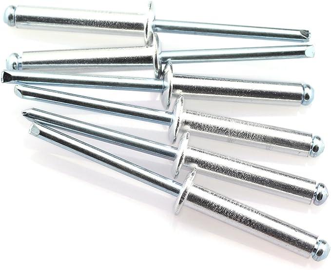 20pcs 4.8 x 16mm Aluminum Alloy Blind Rivets Vehicle Repairing Tool