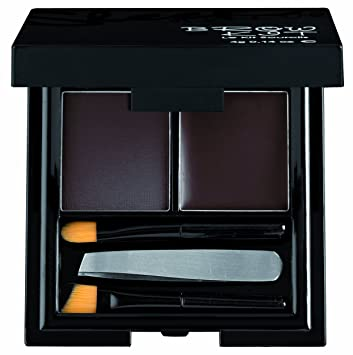Sleek Make Up Brow Kit Extra Dark 3.8g: Amazon.co.uk: Beauty