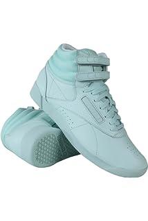 a9bf391ab173 Reebok Women s Freestyle Hi CB Mist White Fashion Sneakers