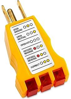 UL -U-ground Outlet Wiring Tester (110 Volt) - - Amazon.com