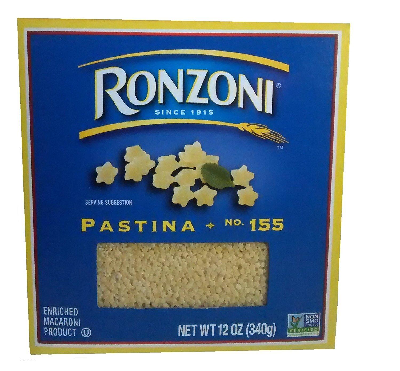 Ronzoni Pastina 12 oz, 2 Pack