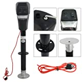 F2C Adjustable Height 12V 3500 lb Capacity Electric Power Tongue Jack RV Boat Jet Ski A-Frame Trailer Camper