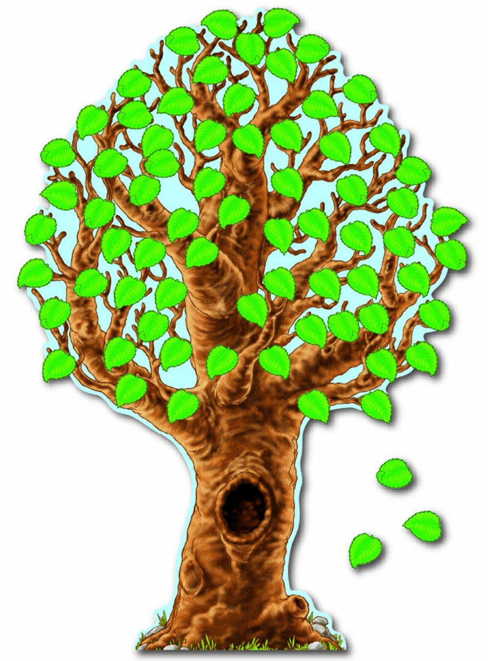 Carson Dellosa Big Realistic Tree Bulletin Board Set (110007) Carson-Dellosa