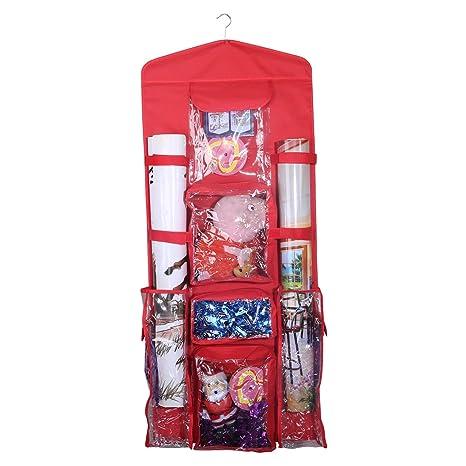 Amazon.com: AOTUNO - Bolsa organizadora de papel de regalo ...