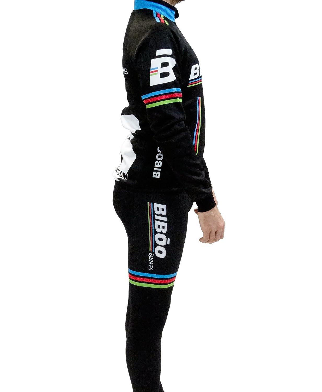 Bibóo Bikes Ecool Winter Fahrradhose, Unisex Erwachsene