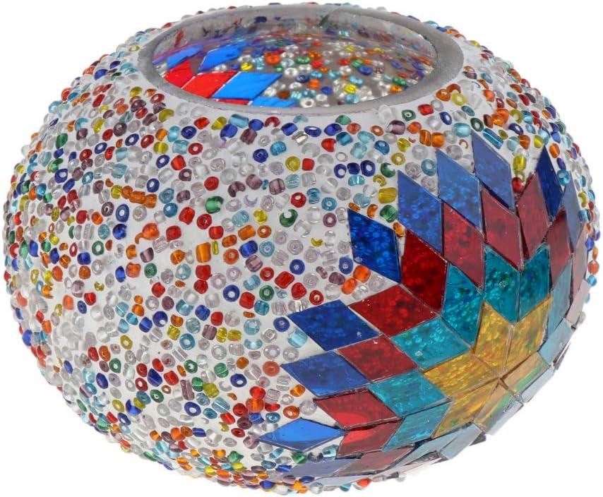 KESOTO Mosaik Lampenschirm E27 Ersatzschirm Lampenglas f/ür Mosaiklampe//Deckenlampe//Tischlampe//Wandlampe Bunt