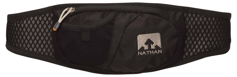 64d3bb9c4b Amazon.com : Nathan Gel Waist Pack (Black) : Running Waist Packs : Sports &  Outdoors