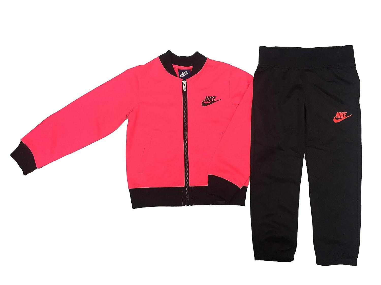 090f95c65e NIKE Little Girls` Therma-Fit Full Zip Hoodie & Jogging Pants 2 Piece Set:  Amazon.co.uk: Sports & Outdoors