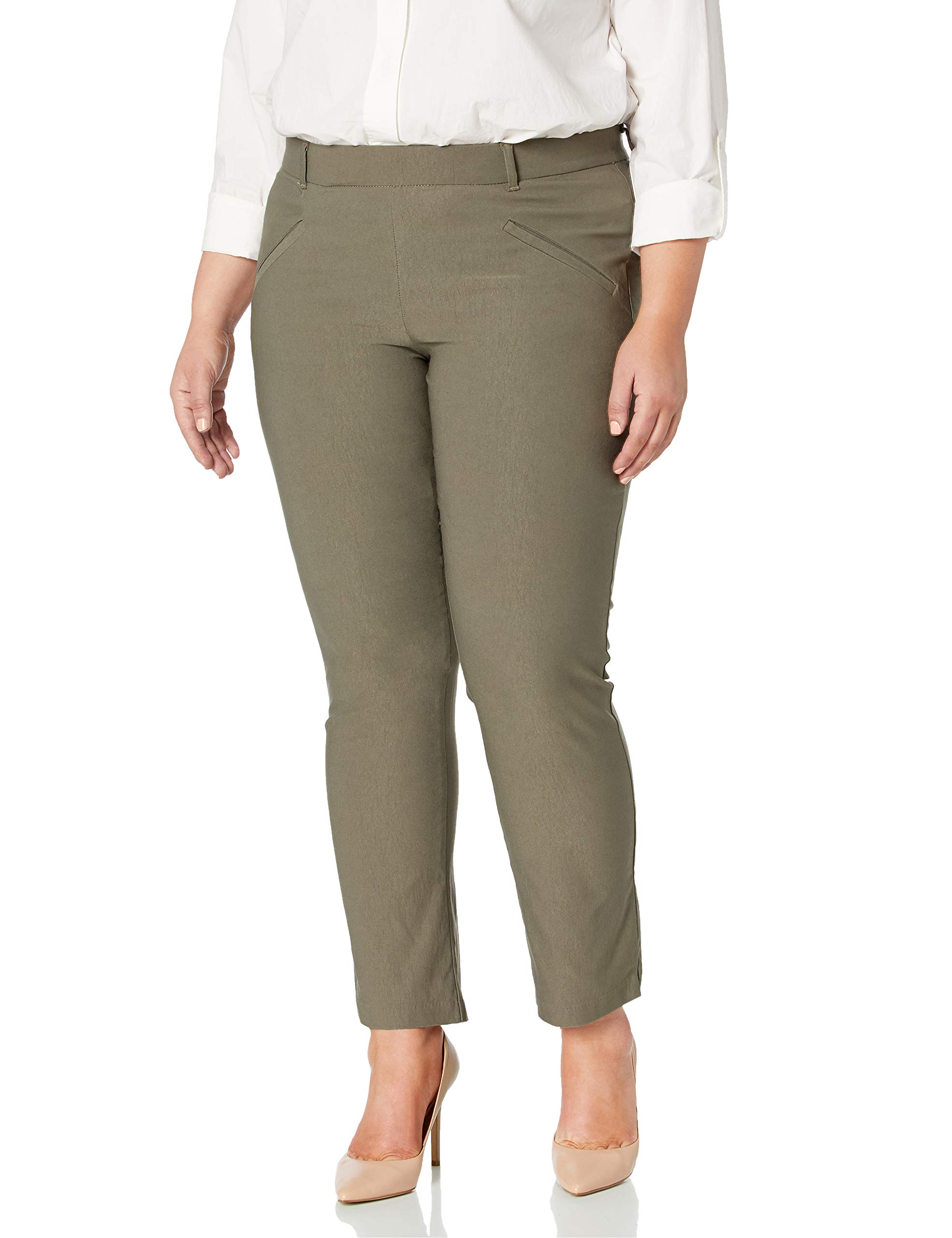 Lee Women's Plus-Size Modern Series Ivy Slim Straight Leg Pant