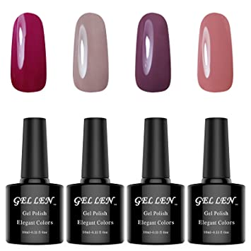 Amazon Color Gel Nail Polish Kit Classic Nail Art Gel Long