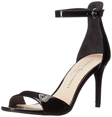 adf8bd4178a Chinese Laundry Women s Simone Heeled Sandal Black Patent 10 ...