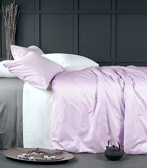 Amazoncom Solid Color Egyptian Cotton Duvet Cover Luxury Bedding