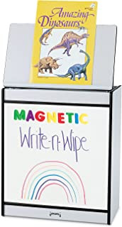 product image for Jonti-Craft Rainbow Accents 0543JCMG004 Big Book Magnetic Write-n-Wipe Easel, Purple