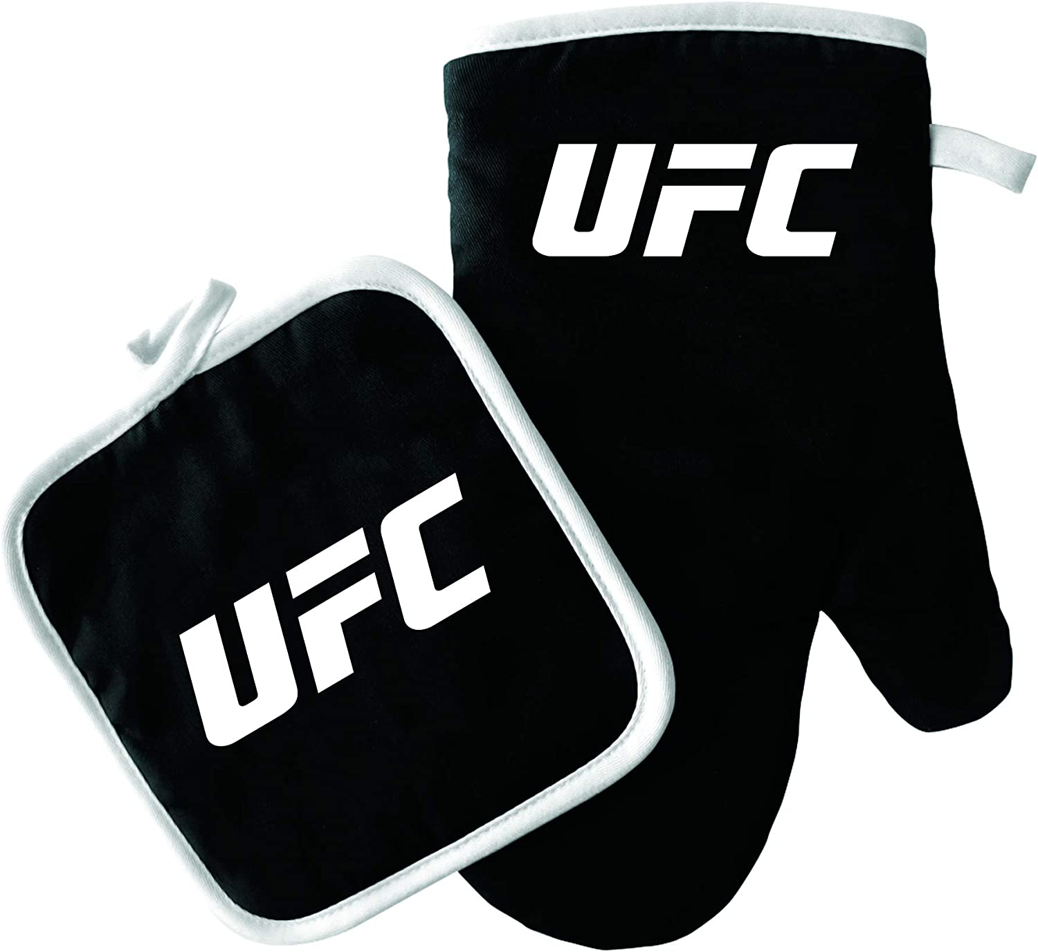 Pro Specialties Group UFC Chef HAT//Apron Logo Black Black ONE Size