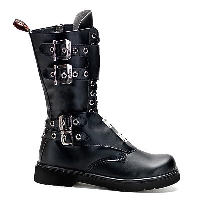 DEFIANT-302 Men Full Inner Side Zipper Boot