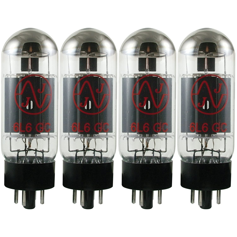 JJ Electronics T-6L6GC-JJ-MQ Vacuum Tube Beam Power AMP Matched Quad