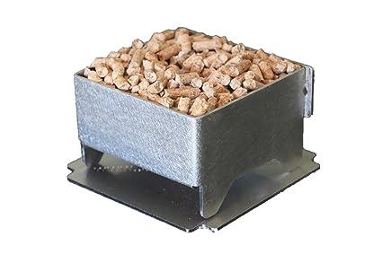 Enciende fuego innovador y ecológico para fuegos de chimenea o de Barbacoas (con base)