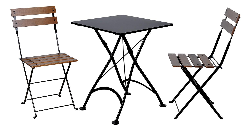 Amazon Mobel Designhaus French Café Bistro Folding Table Jet