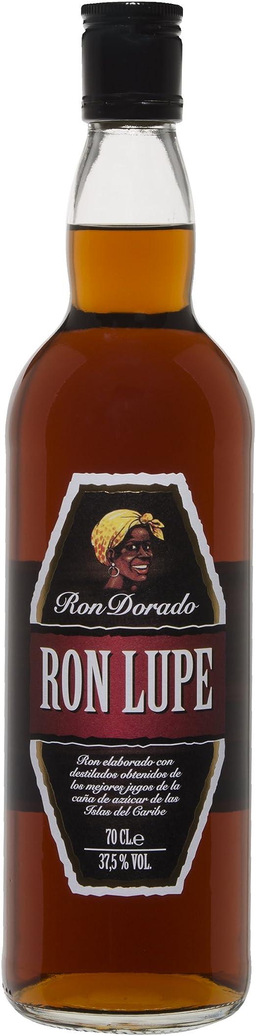 Ron dorado 37, 5% vol lupe 70 cl: Amazon.es: Alimentación y ...