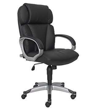 Sealy Posturepedic 9642G Ergonomic Office Chair, Black