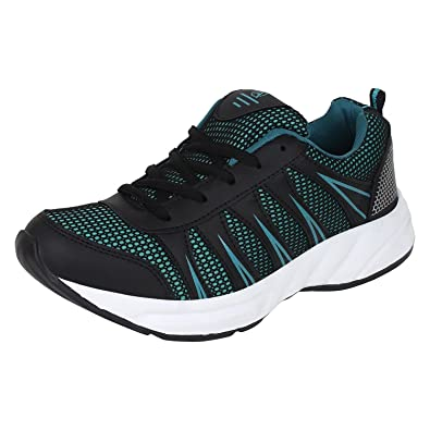 Aero AMG Performance Running Shoes (Cyan, Black) 10UK