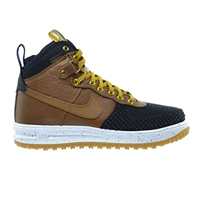 Nike Lunar Force 1 Duckboot Men's Shoes BlackLight British TanGold Dart