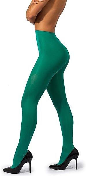Women/'s Tights Tights Ladies Microfibre Microfibre Matte Opaque 40den