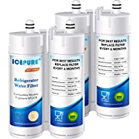 2-Pack Icepure Refrigerator Water Filter, Compatible with WF2CB, pure source 2, NGFC 2000, FC100, Kenmore 469911, 469916, EWF2CBPA