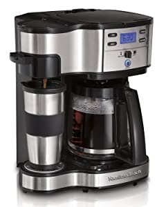 Hamilton Beach 49980Z Single Serve Coffee 2 Way Brewer