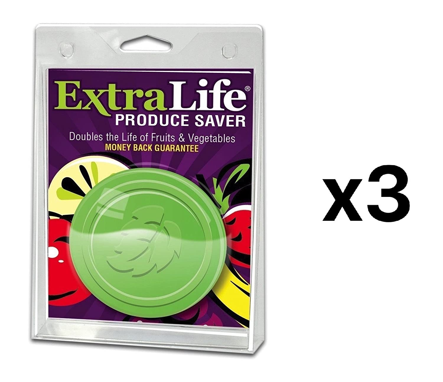 ExtraLife Produce Preserver Disks - Set of 3