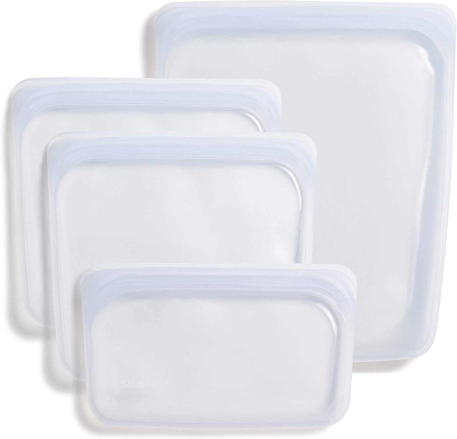 Re-usable silicone bags