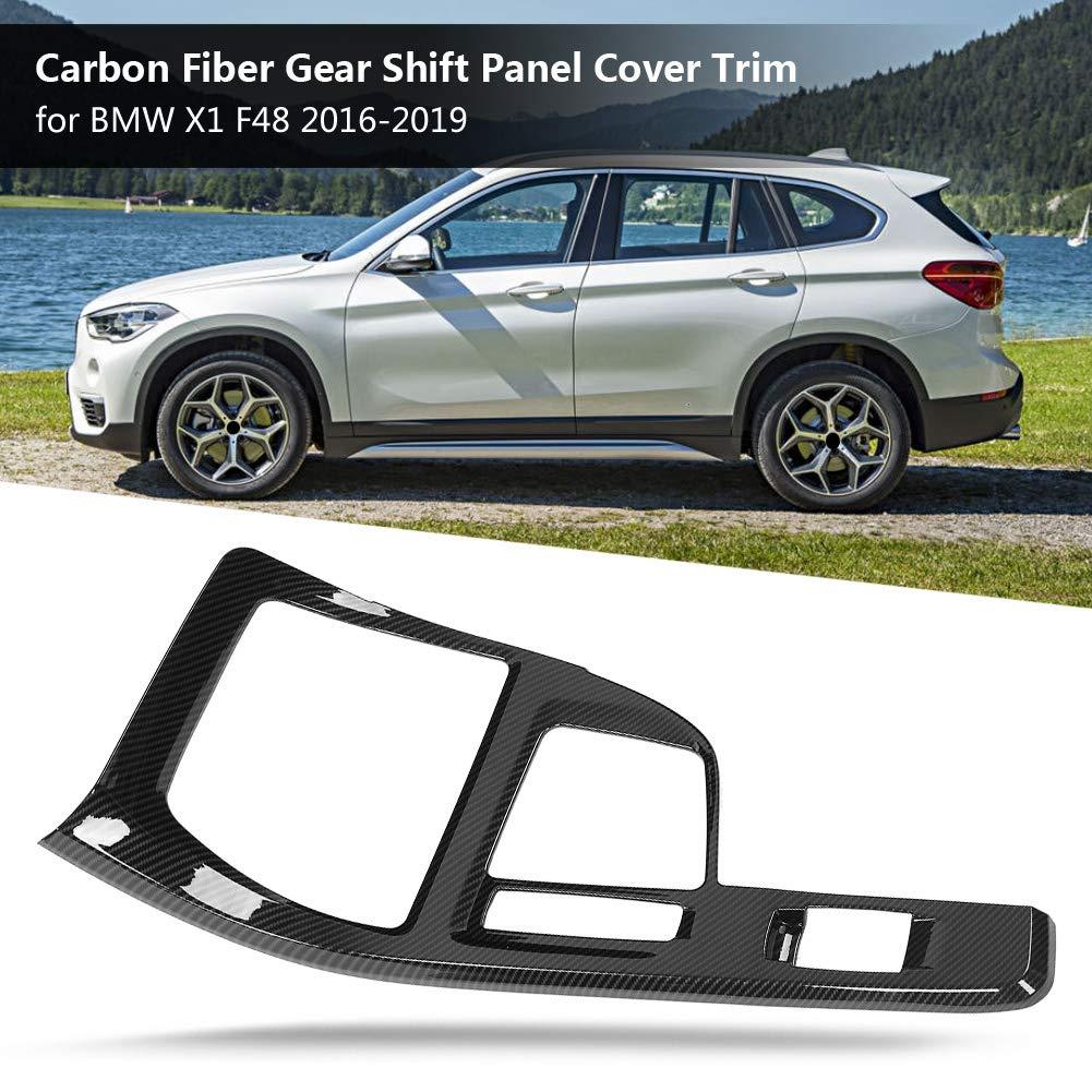 Carbon Style Aktualisiert Schaltpaneel Abdeckung Verkleidung f/ür X1 F48 2016-2019 Abdeckung Verkleidung Schaltpaneel