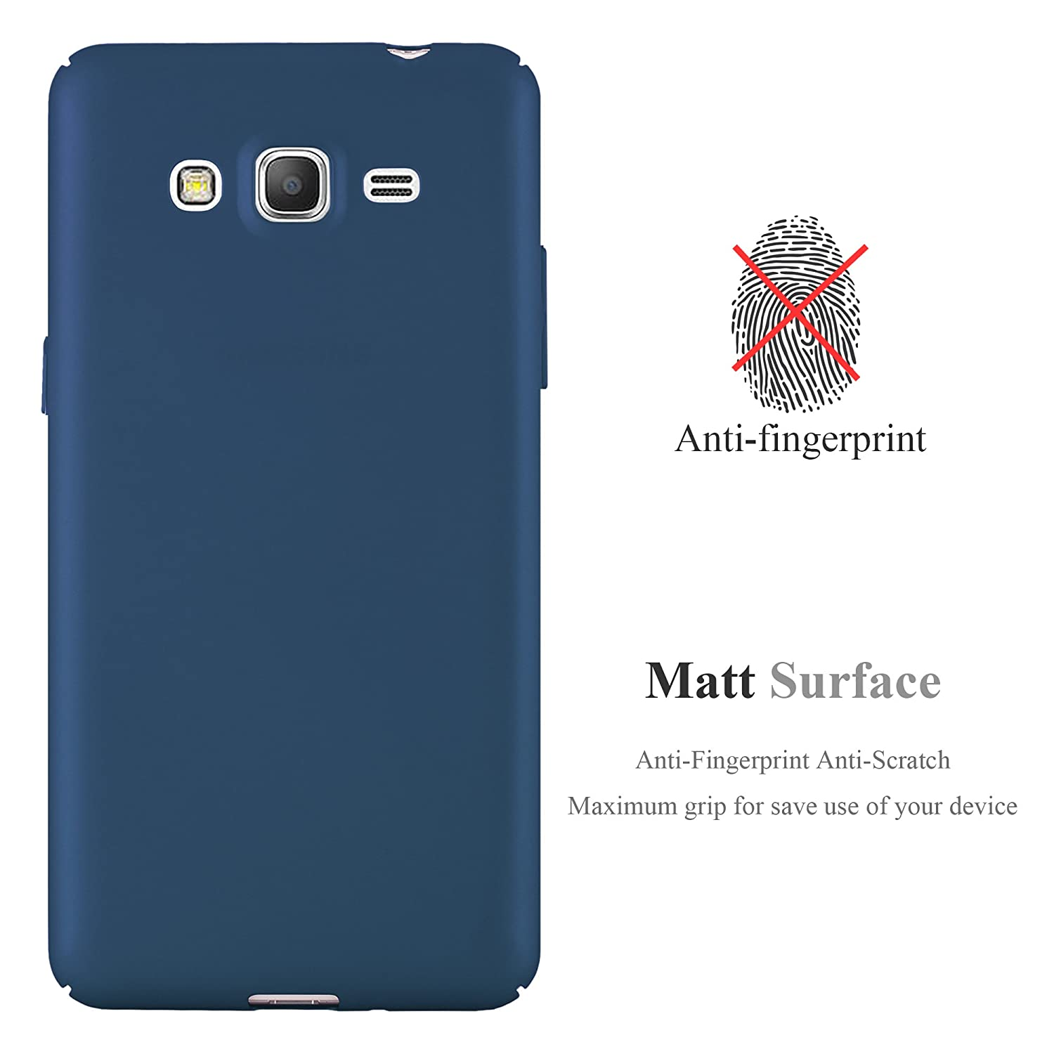 Amazon.com: Cadorabo Ultra Slim Hard Cover para Samsung ...