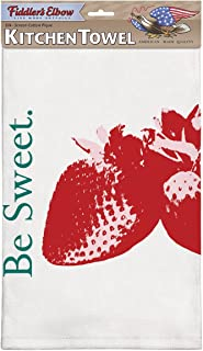 "product image for Flour Sack Kitchen Dish Towel | ""Be Sweet"" 