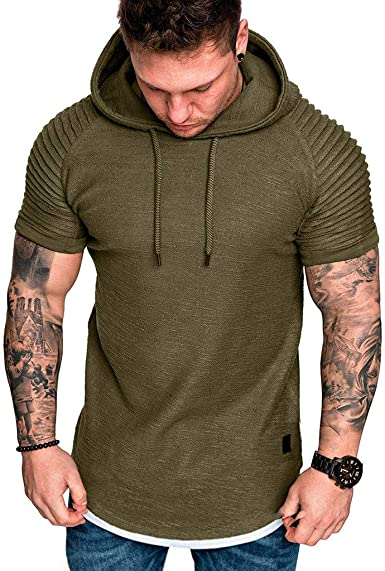 Kirbaez Men/'s Polo Shirts Summer Fashion Short Sleeve Slim Fit Personality Zipper Casual Sport T-Shirts Tops Blouse