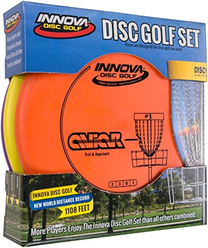 INNOVA Dx Disc Golf Set 3 (DX Stacked Set) best disc golf set