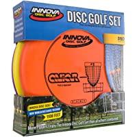 Innova Disc Golf Set - Conductor, Rango Medio y Putter, cómodo plástico DX, Colores Pueden Variar (3 Unidades)