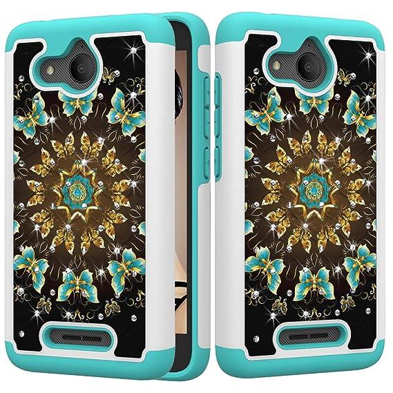Amazon.com: Alcatel Tetra Case, Ankoe Luxury Glitter Sparkle ...