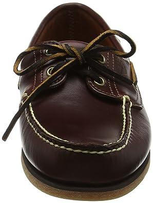 Timberland Classic 2-Eye, Zapatos del Barco para Hombre, Marrón (Rootbeer Smooth 214), 45.5 EU
