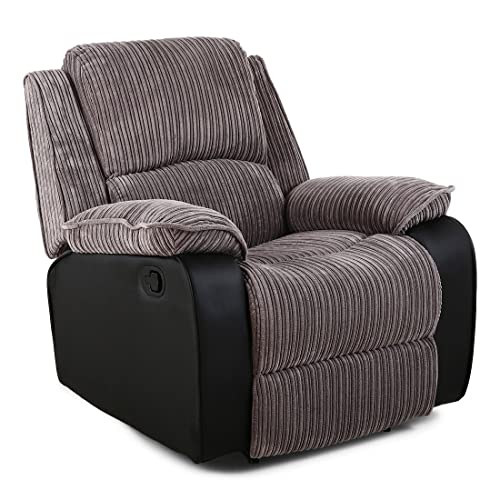 fabric recliner sofa amazon co uk