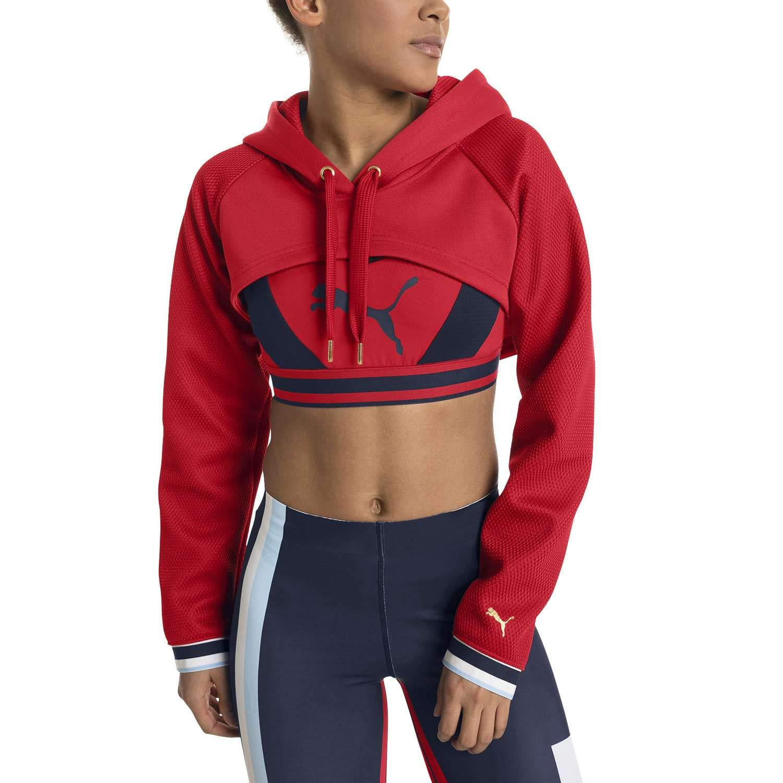 Puma Varsity Cover Up, T-Shirt Donna 517069