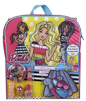 Barbie- Estuche de maquillaje infantil (Markwins Beauty Brands 9709310)