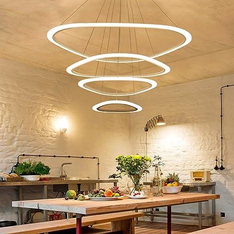 LED Kronleuchter Loft Beleuchtung nordische Pendelleuchte ...